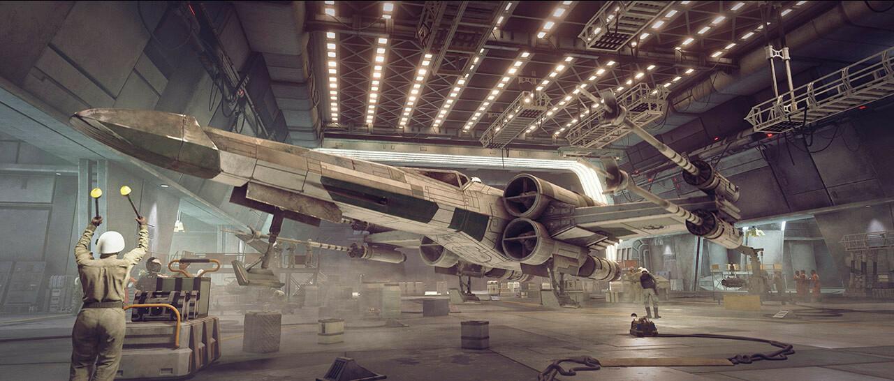 Геймплей и подробности Star Wars: Squadrons 9