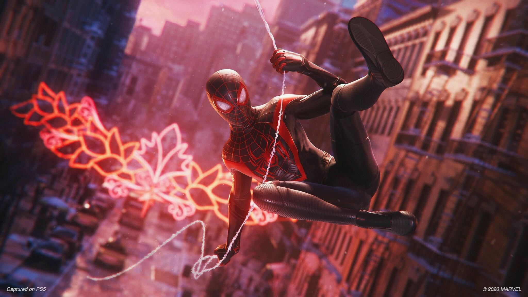Кадры изновых Spider-Man, Horizon, Ratchet & Clank и ремейка Demon's Souls 4