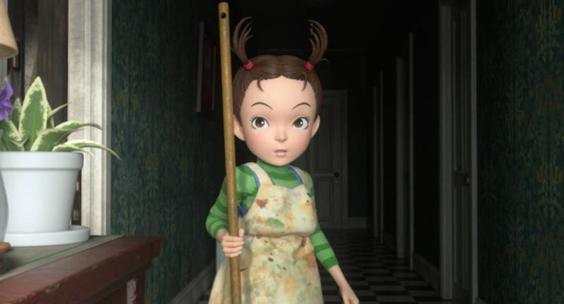 Ghibli показала постер и кадры «Аи и ведьмы» — первого полнометражного CG-проекта студии