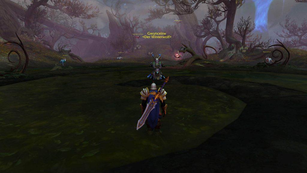 В World of Warcraft: Shadowlands появились местные Геральт и Лютик