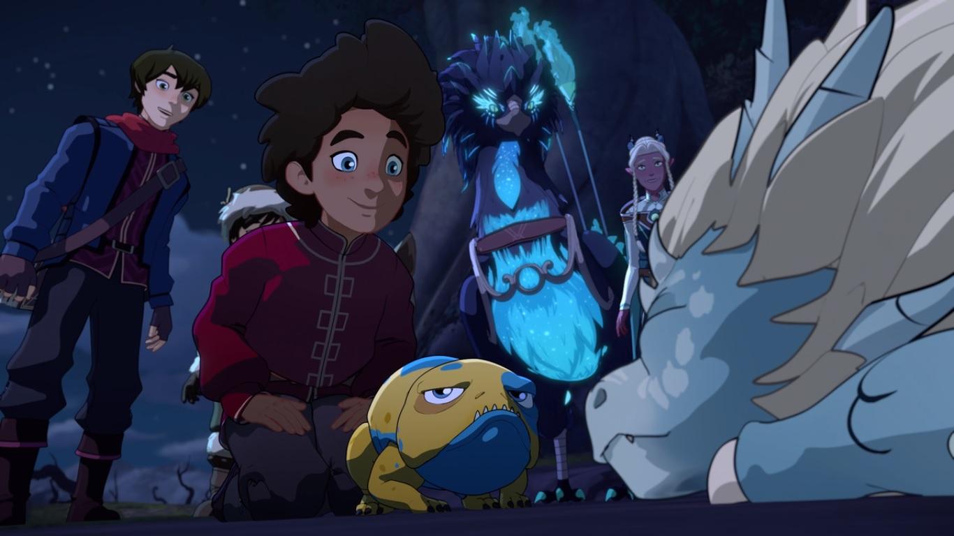 Netflix продлил «Принца-дракона» еще на четыре сезона