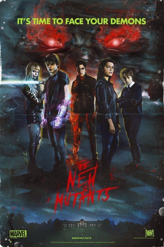 Отрывок и постеры «Новых мутантов» — фильм всё ещё запланирован на28 августа 5