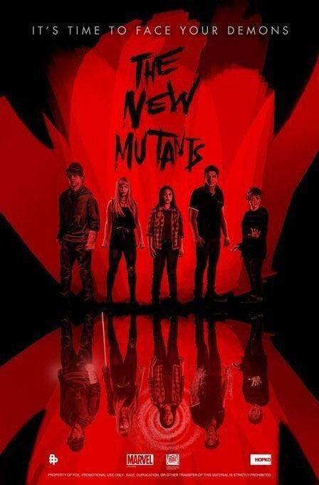 Отрывок и постеры «Новых мутантов» — фильм всё ещё запланирован на28 августа 6