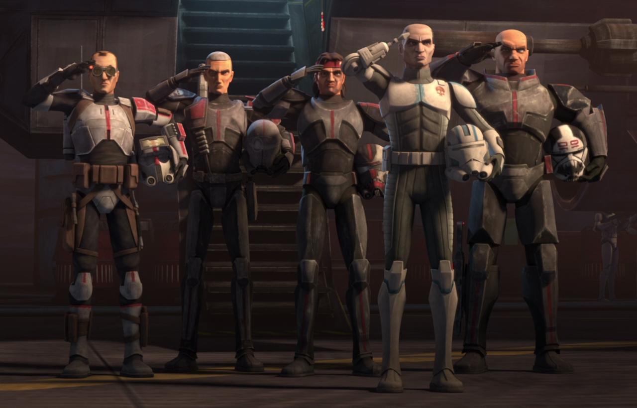 Disney+ заказал мультсериал по«Звёздным войнам» проБракованный отряд 1