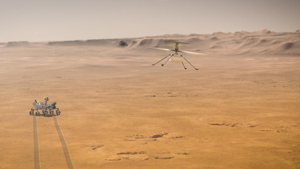 NASA успешно отправило к Марсу ровер Perseverance и дрон Ingenuity 2