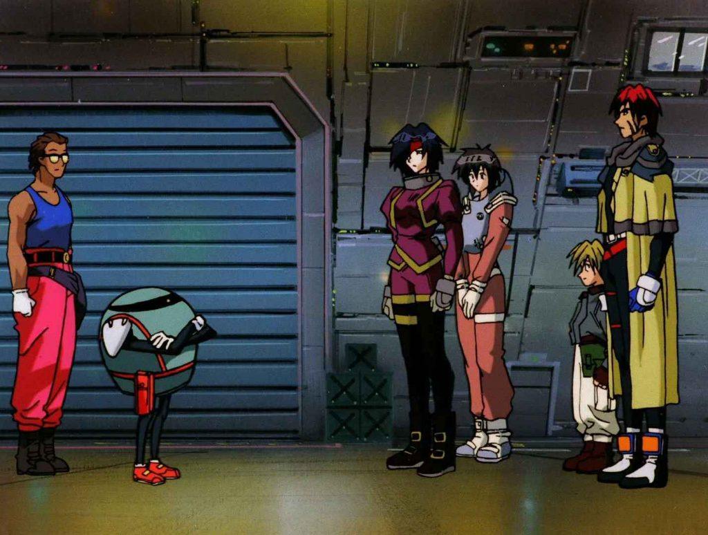 Забытые шедевры аниме: космические пираты и авантюристы 11