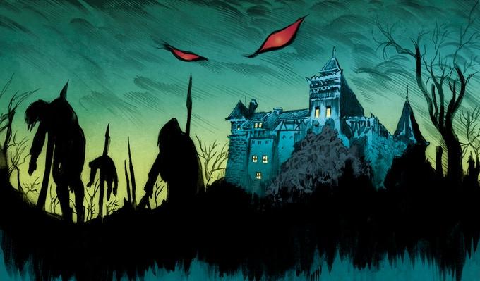 Сценарист Marvel готовит собственный комикс проДракулу — издавать будет через Kickstarter 3