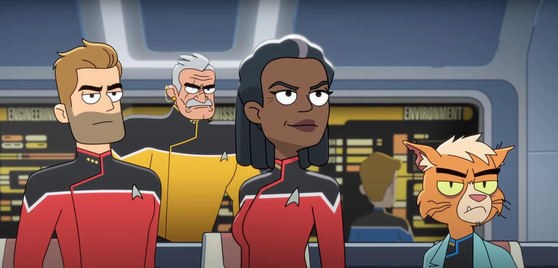 Трейлер комедийного мультсериала Star Trek: Lower Decks