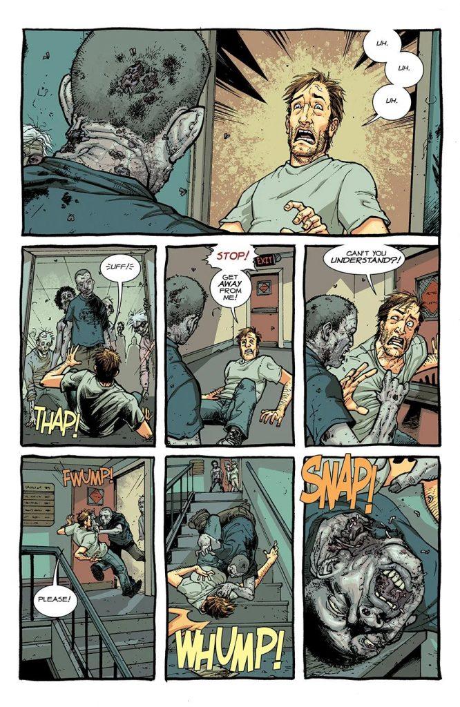 Комикс «Ходячие мертвецы»переиздадут вцвете 3