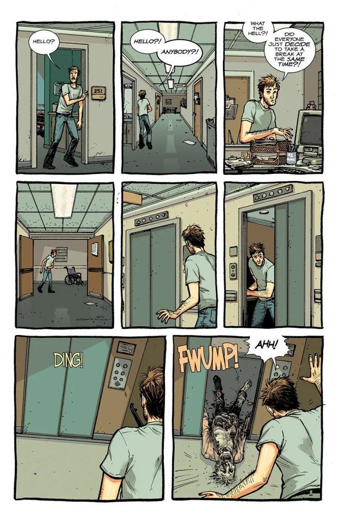 Комикс «Ходячие мертвецы»переиздадут вцвете 4