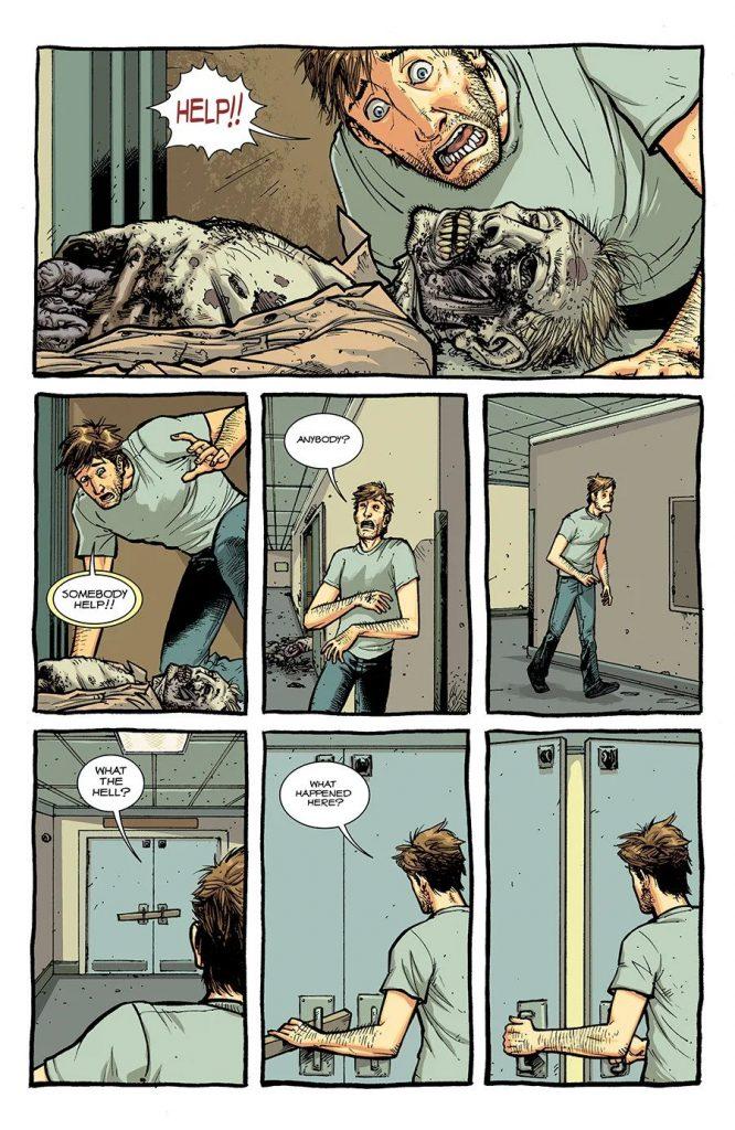 Комикс «Ходячие мертвецы»переиздадут вцвете 5