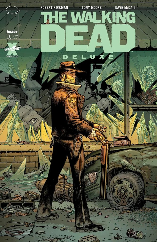 Комикс «Ходячие мертвецы»переиздадут вцвете 2