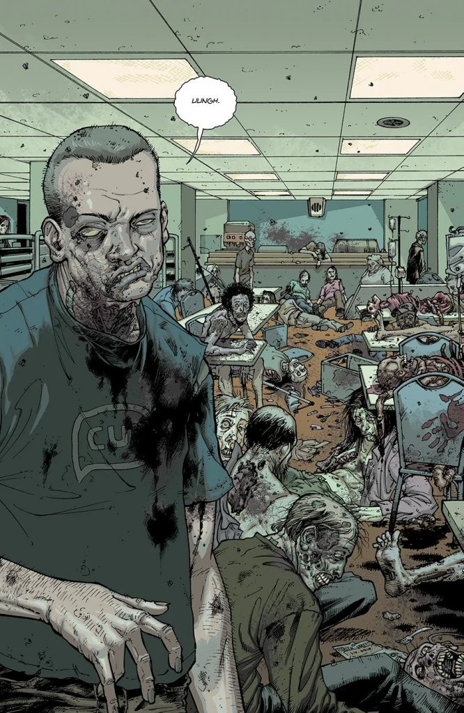 Комикс «Ходячие мертвецы»переиздадут вцвете 6