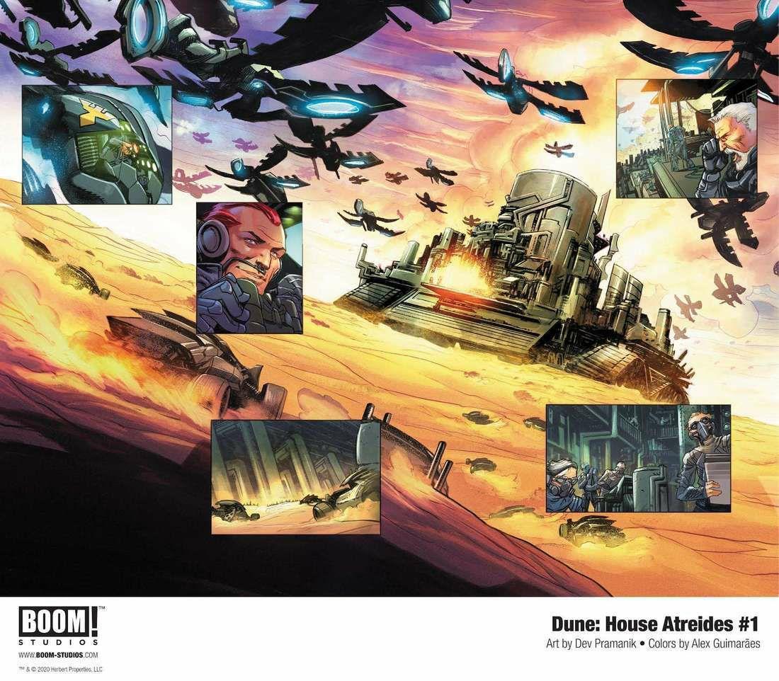 Обложка и концепты комикса по «Дюне» Герберта 3