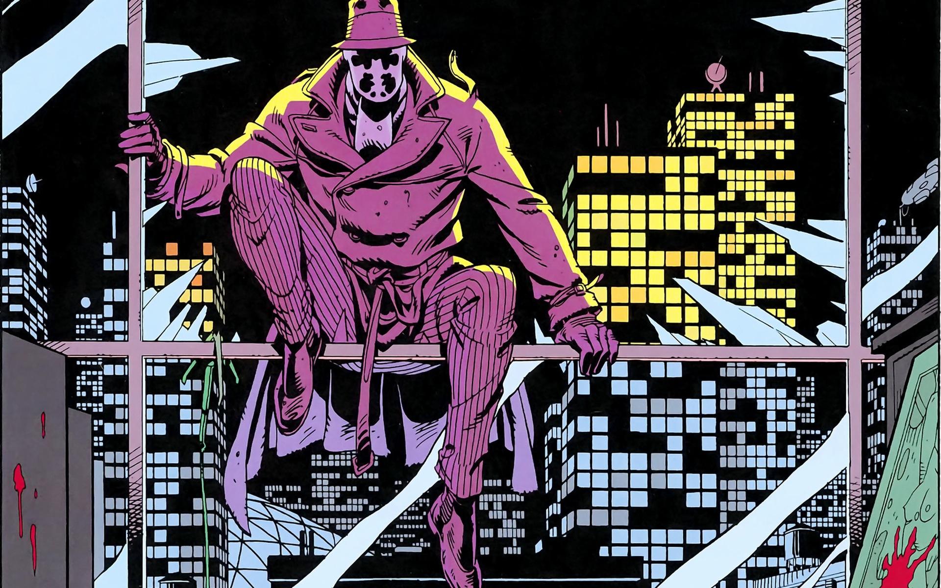 DC анонсировала новый комикс по «Хранителям». Он будет посвящен Роршаху