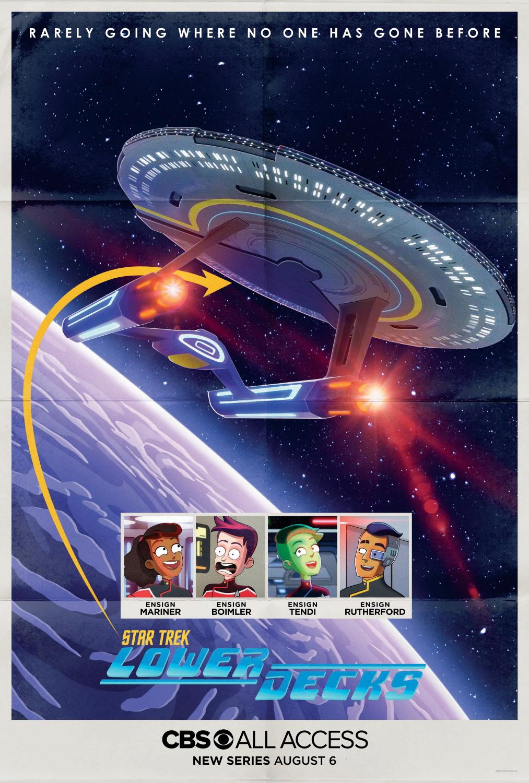 Мультсериал поStar Trek начнёт выходить с6 августа 1