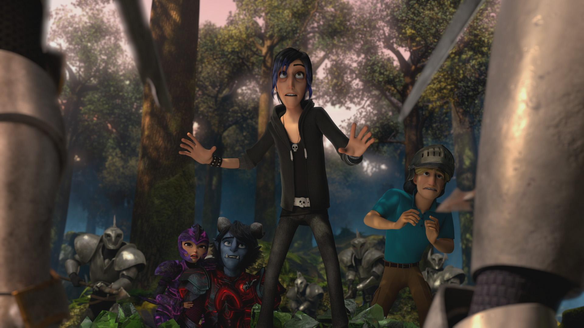Первые кадры и дата выхода мультсериала «Волшебники» —спин-оффа «Охотников на троллей» 3