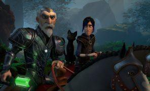 Первые кадры и дата выхода мультсериала «Волшебники» —спин-оффа «Охотников натроллей»