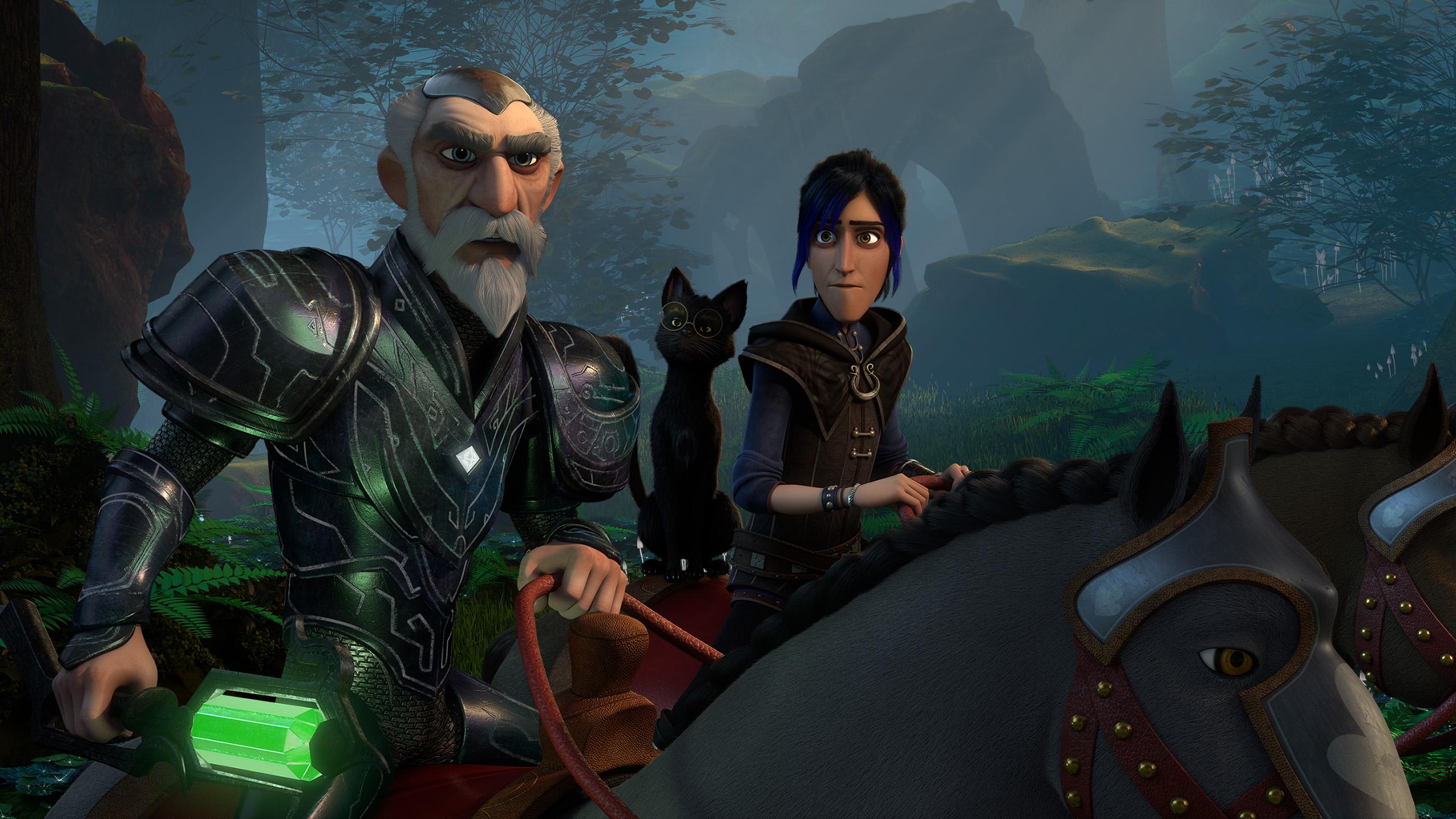 Первые кадры и дата выхода мультсериала «Волшебники» —спин-оффа «Охотников на троллей»