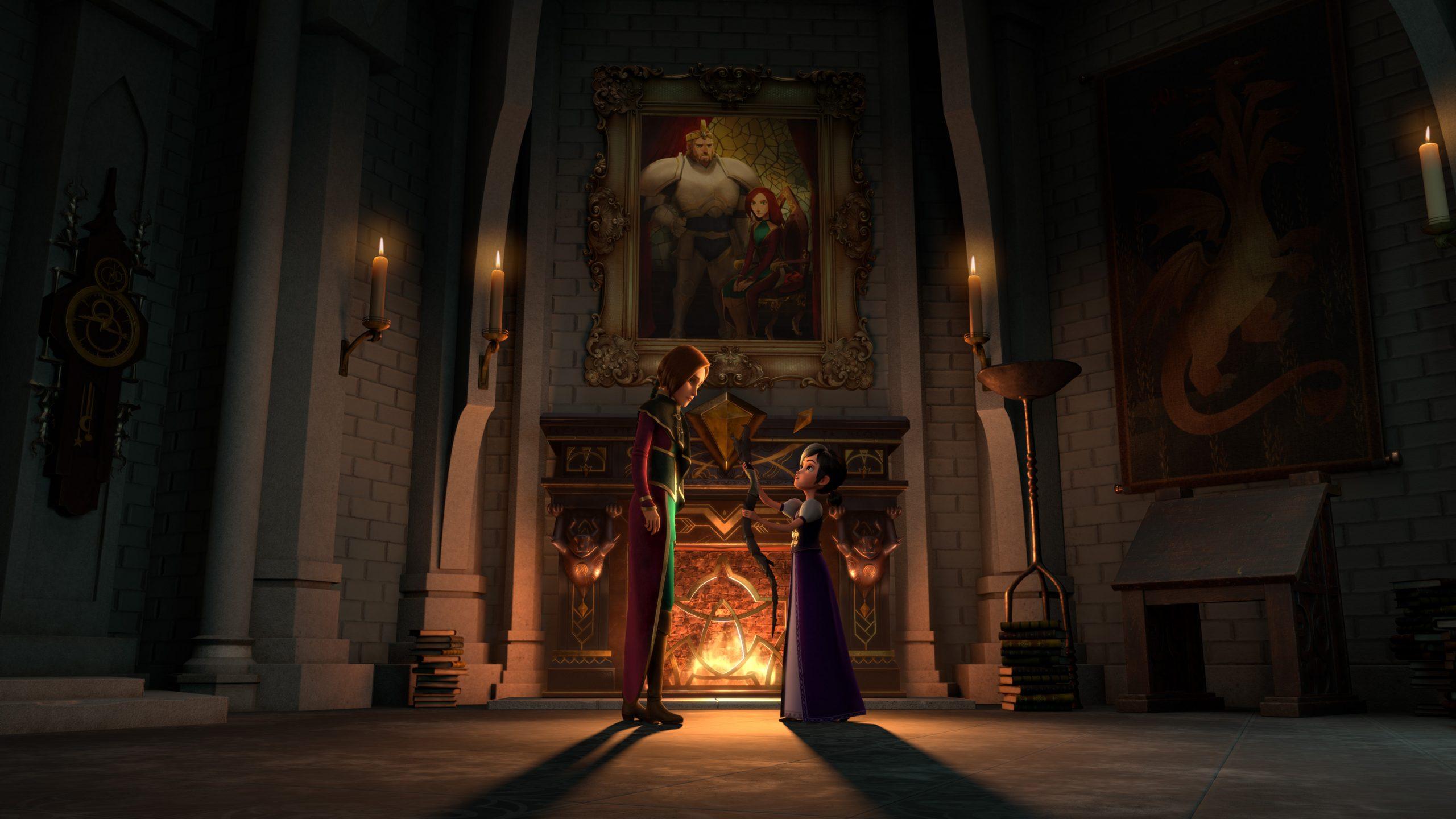 Первые кадры и дата выхода мультсериала «Волшебники» —спин-оффа «Охотников на троллей» 7