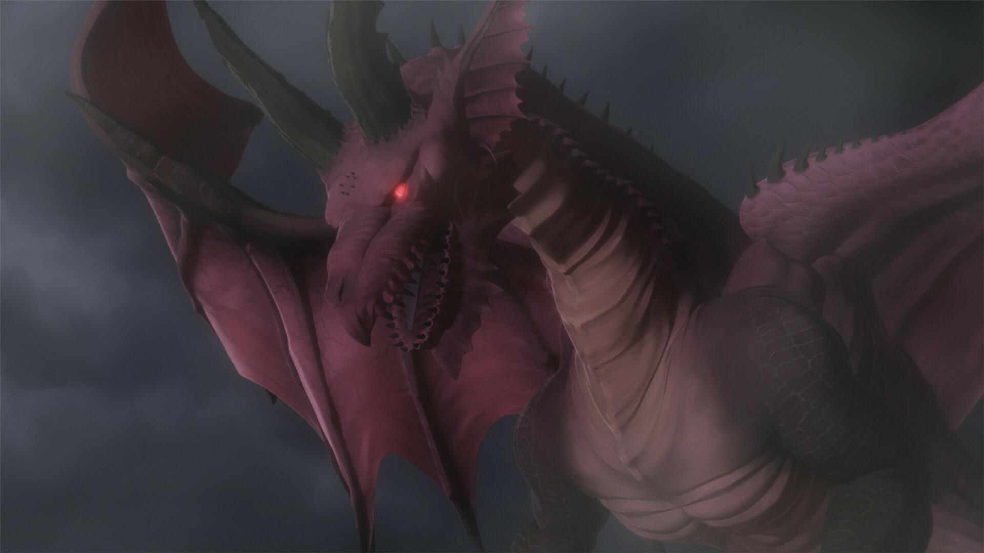 Постер и кадры аниме-сериала Dragon's Dogma от Netflix 3