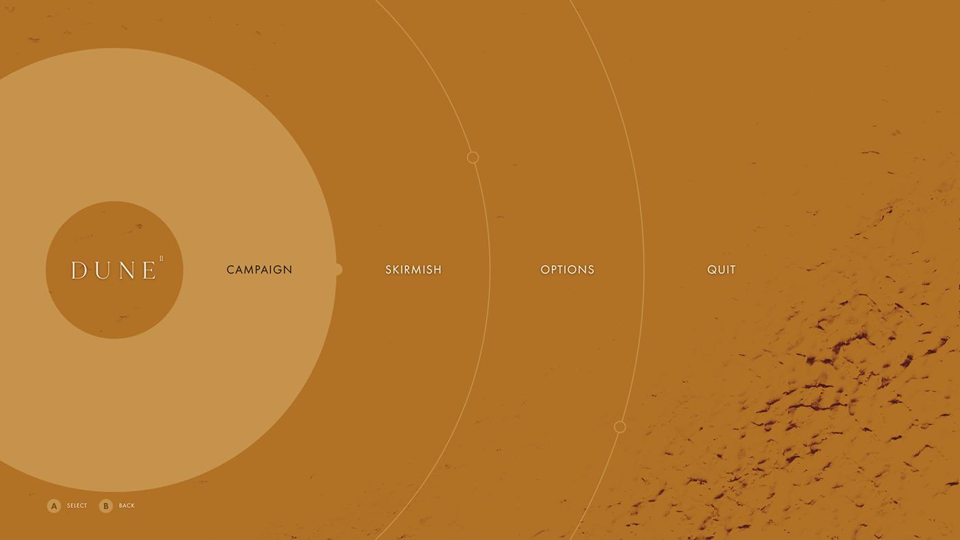 Находка: современный взгляд настратегию Dune II. К сожалению, это лишь концепт-проект 4