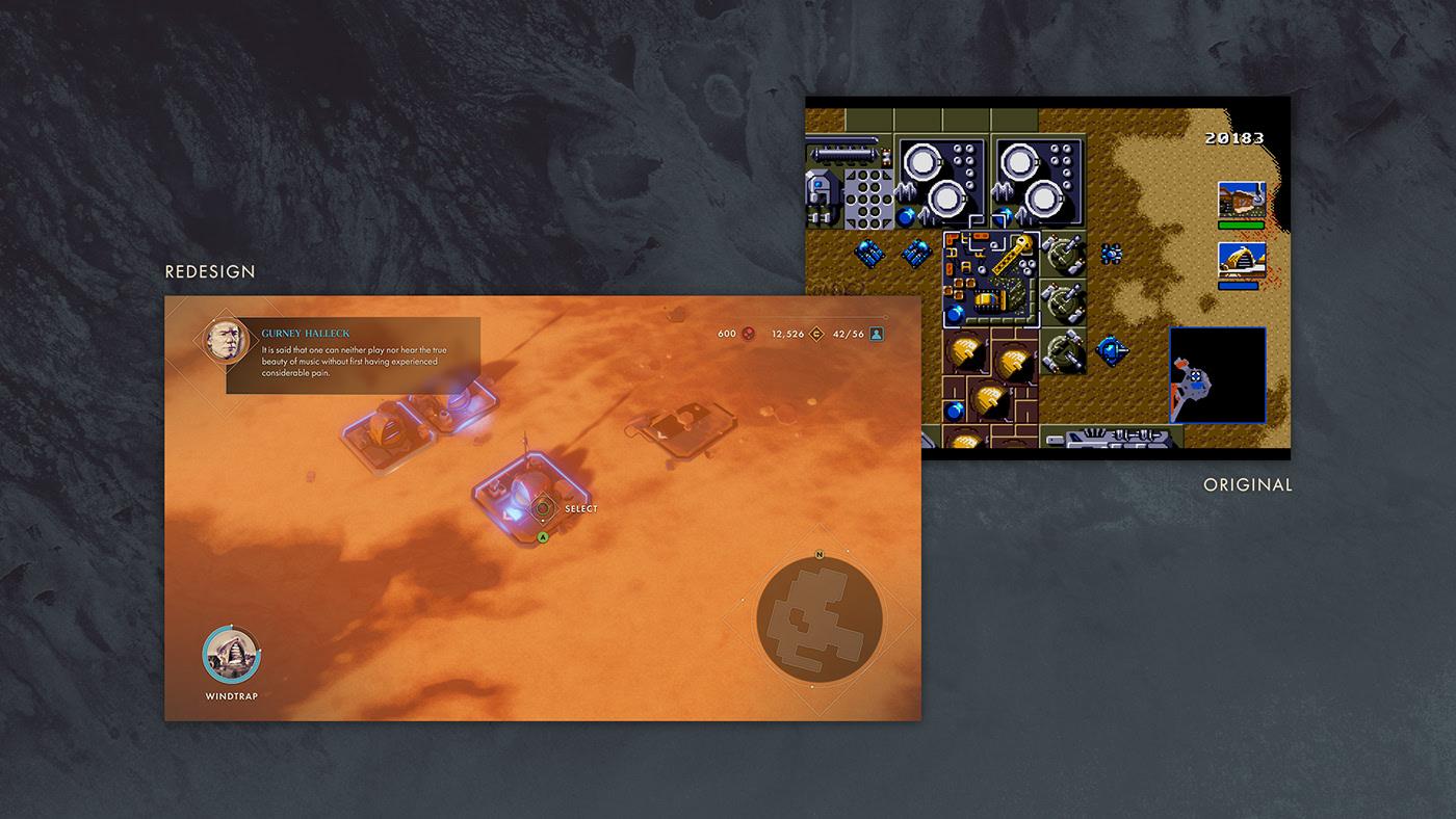 Находка: современный взгляд настратегию Dune II. К сожалению, это лишь концепт-проект 1