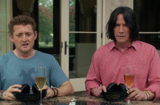 «Билл и Тед»: фильм, где даже Киану не очень потрясающий