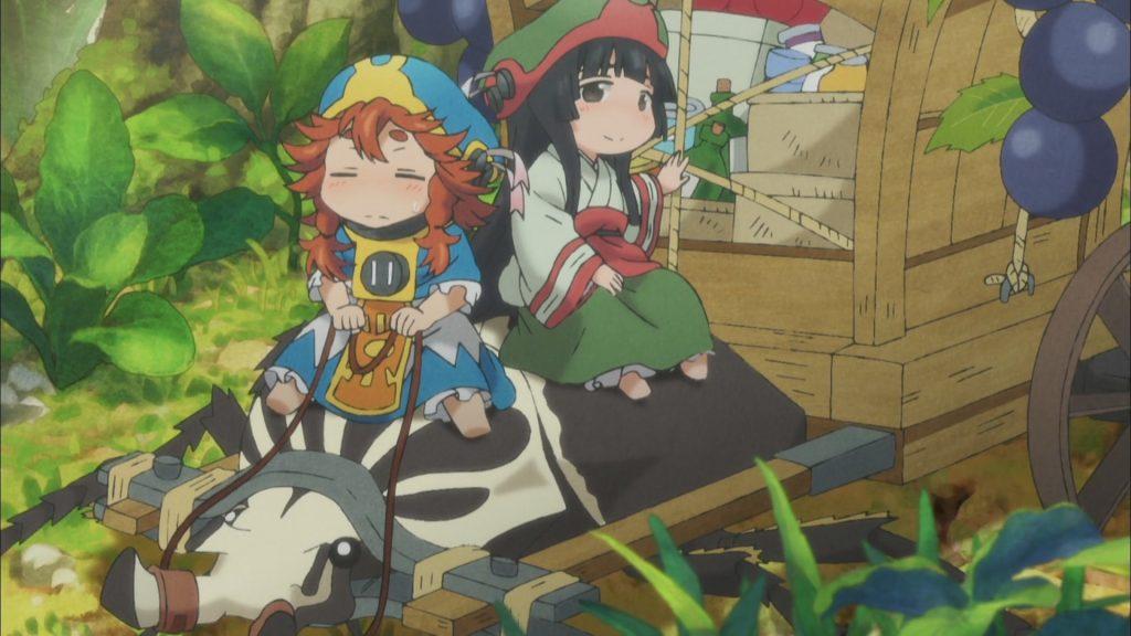 Иясикей: лёгкое доброе аниме, поднимающее настроение 3