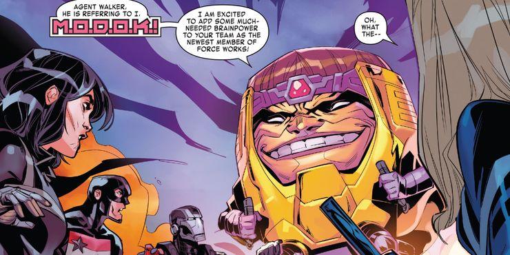 В«Агентах Щ.И.Т.» хотели показать злодея МОДОКа, но витоге Marvel запретила его использовать