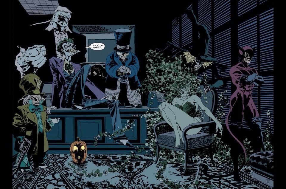 DC выпустит мультфильм Batman: The Long Halloween