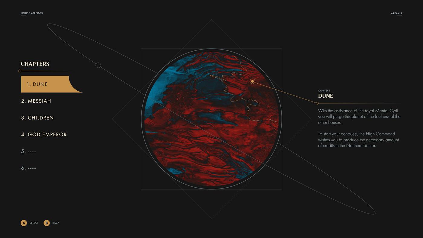 Находка: современный взгляд настратегию Dune II. К сожалению, это лишь концепт-проект 2