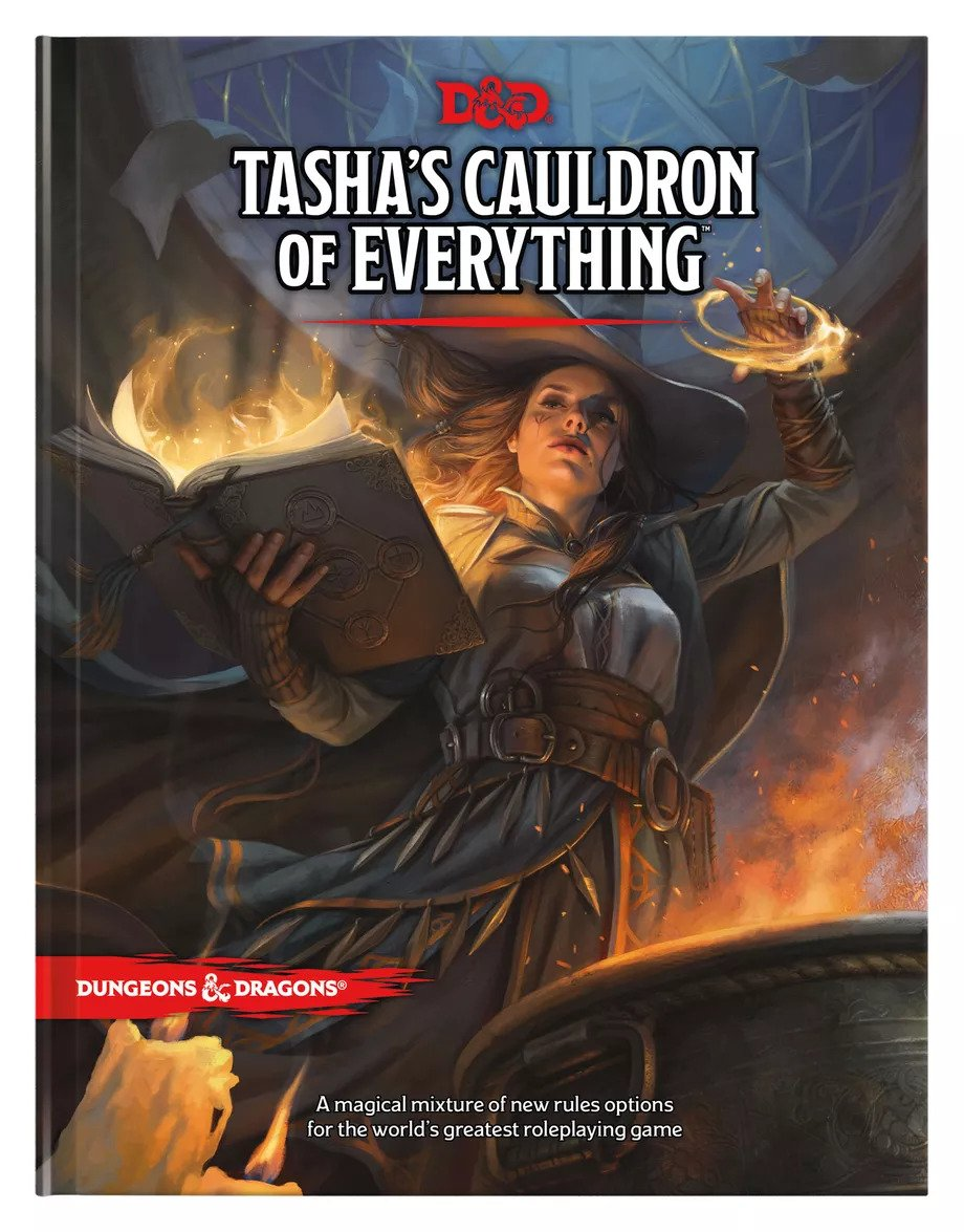 WotC представила Tasha's Cauldron of Everything — новую книгу по Dungeons & Dragons