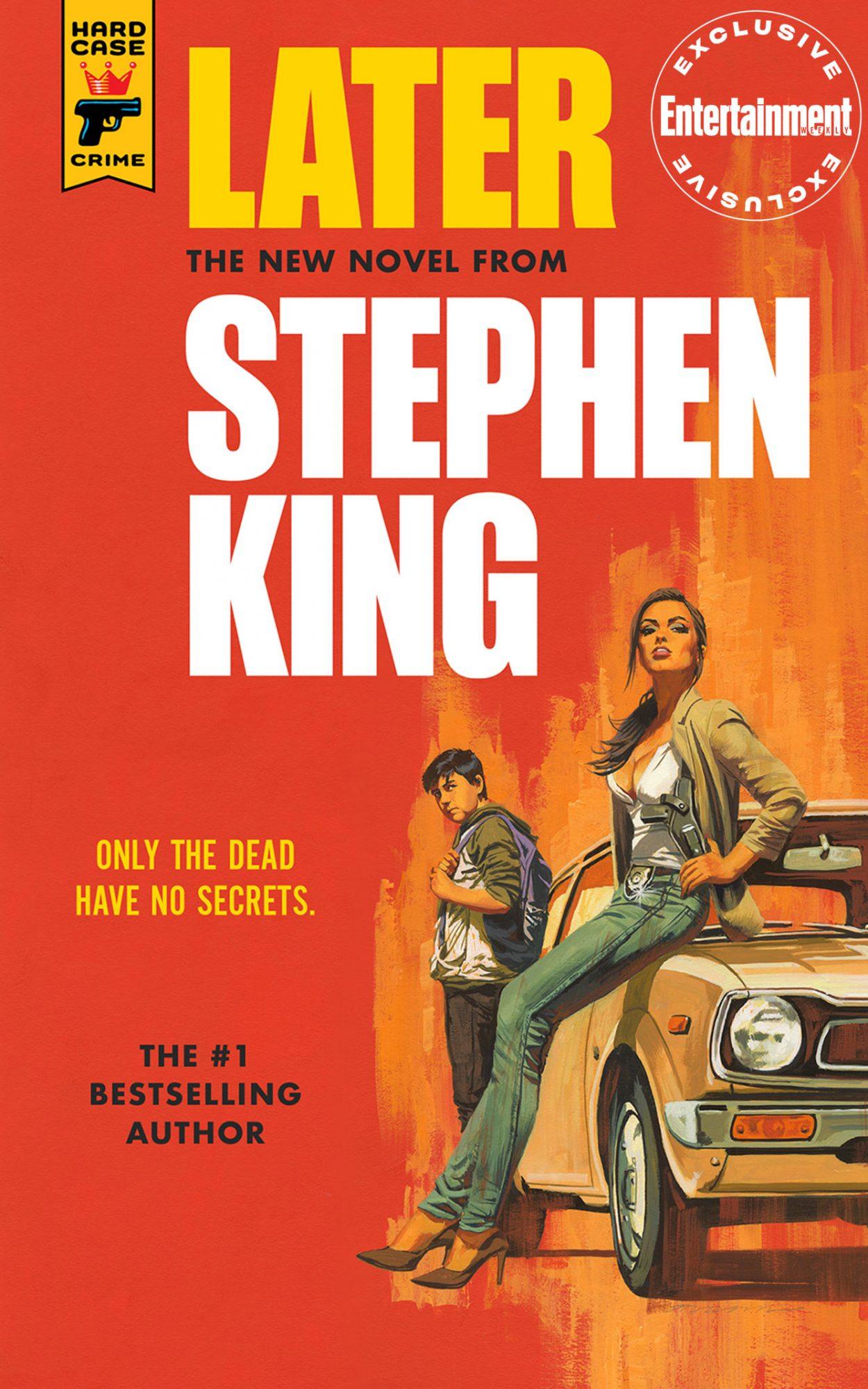 Обложка нового романа Стивена Кинга «Позже» — выходит вмарте 2021-го 1