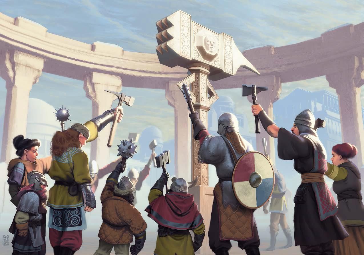 На CrowdRepublic стартовал предзаказ «Midgard. Книга Героев» —сеттинга дляDungeons&Dragons 1
