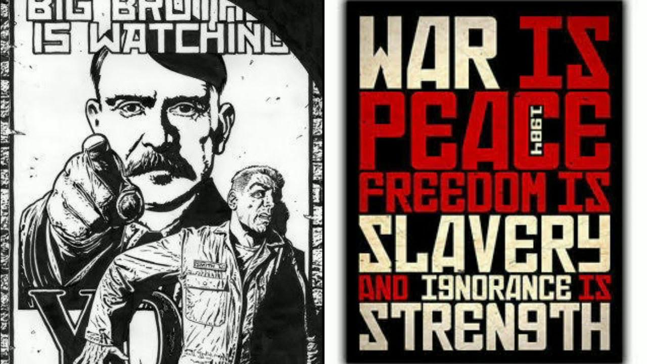 Война —это мир: «1984» Оруэлла возглавила топ антиутопий поверсии ЛитРеса