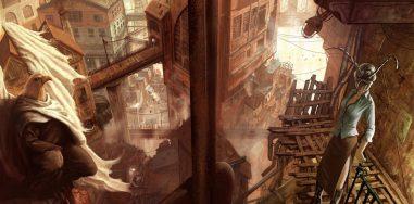 Впечатляющие фэнтезийные мегаполисы 6