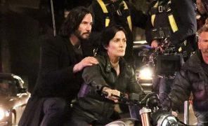 Киану Ривз: «Матрица 4» это вдохновляющая истории любви