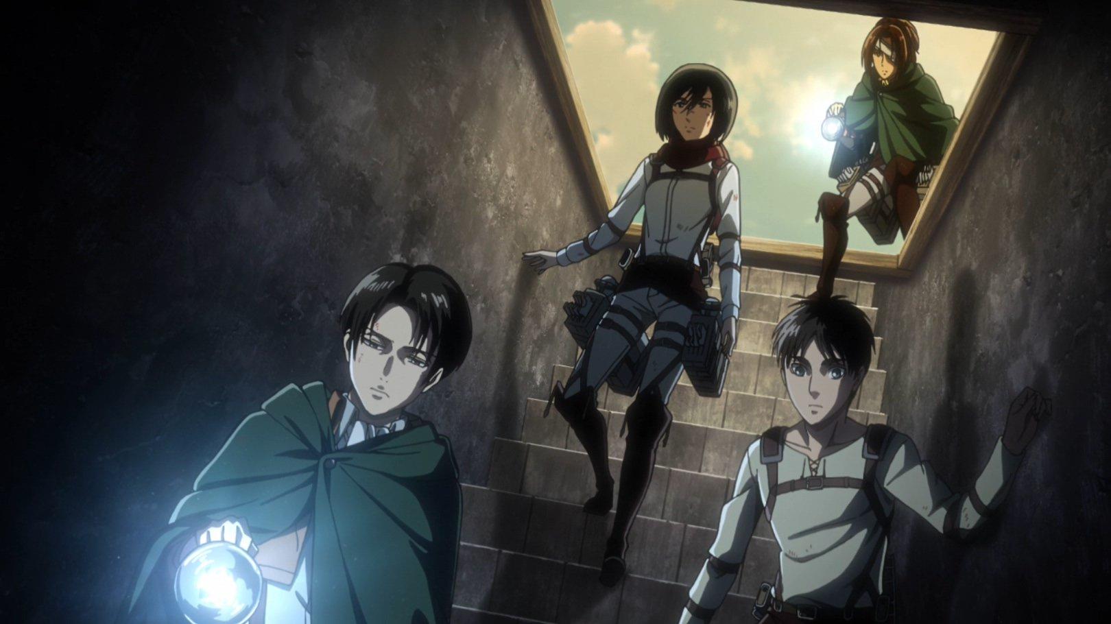 Ожидаются осадки в виде гигантов: вышел трейлер последнего сезона «Атаки титанов»