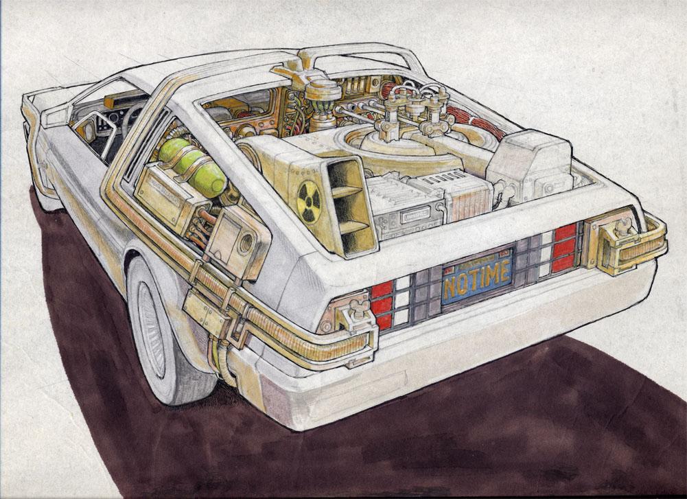 Умер Рон Кобб — художник-постановщик и дизайнер «Чужого», «Звёздных войн» и «Назад в будущее» 12