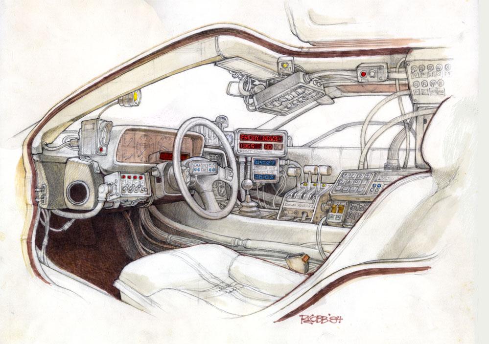 Умер Рон Кобб — художник-постановщик и дизайнер «Чужого», «Звёздных войн» и «Назад в будущее» 13