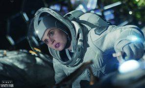 Первые кадры фантастического фильма «Полуночное небо» Джорджа Клуни
