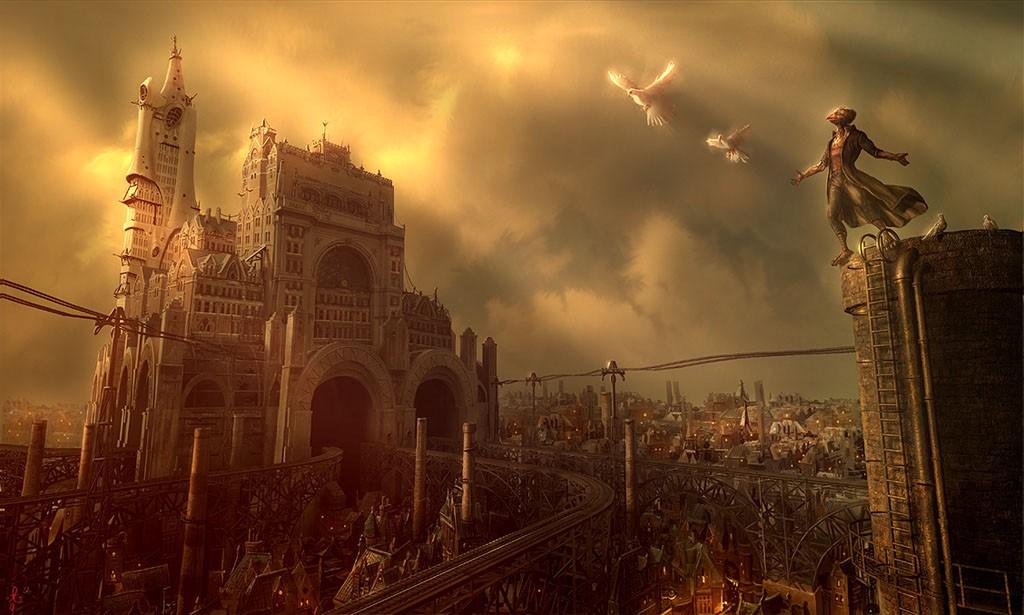 Впечатляющие фэнтезийные мегаполисы 2