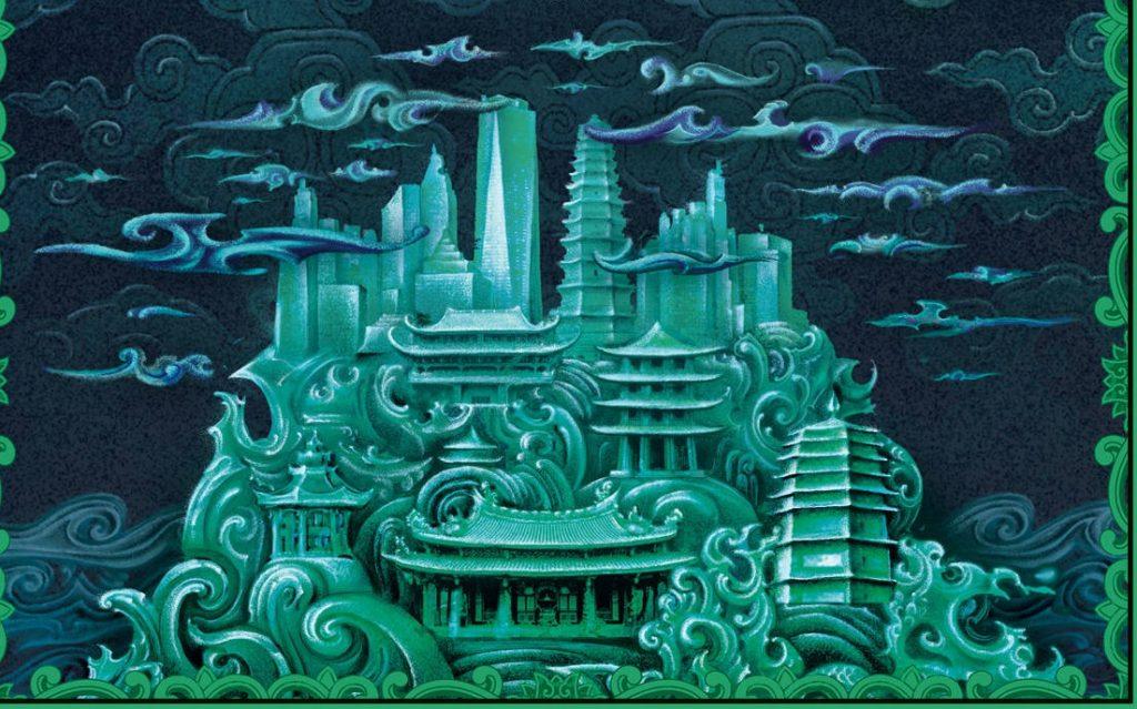 Впечатляющие фэнтезийные мегаполисы 3