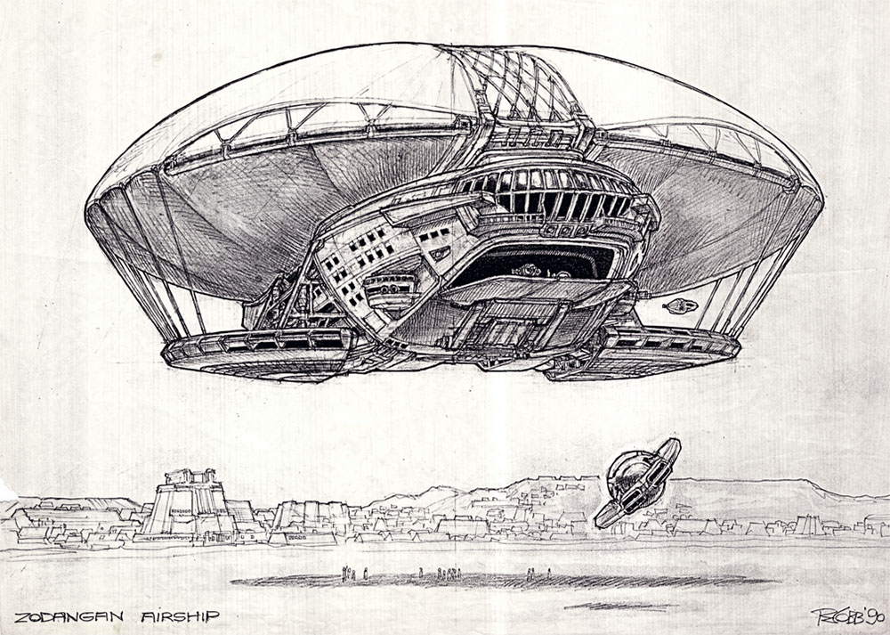 Умер Рон Кобб — художник-постановщик и дизайнер «Чужого», «Звёздных войн» и «Назад в будущее» 16