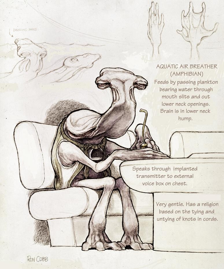 Умер Рон Кобб — художник-постановщик и дизайнер «Чужого», «Звёздных войн» и «Назад в будущее» 3