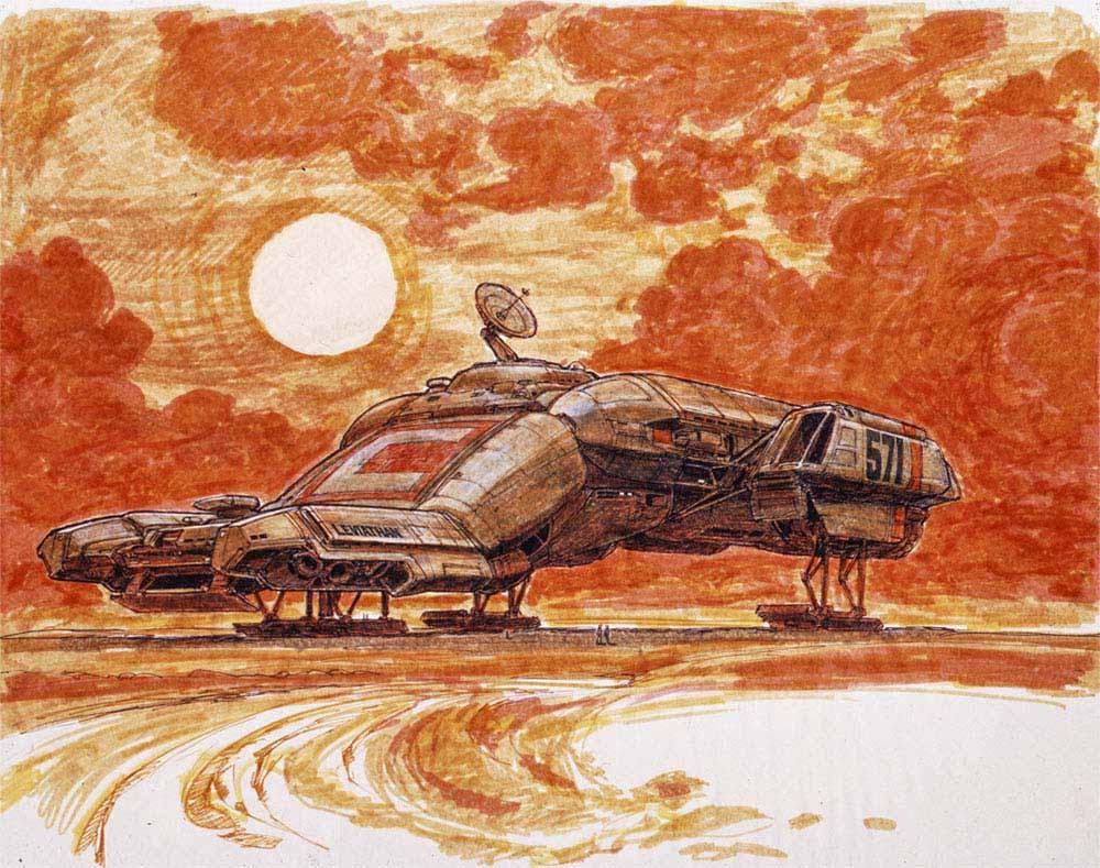Умер Рон Кобб — художник-постановщик и дизайнер «Чужого», «Звёздных войн» и «Назад в будущее» 5
