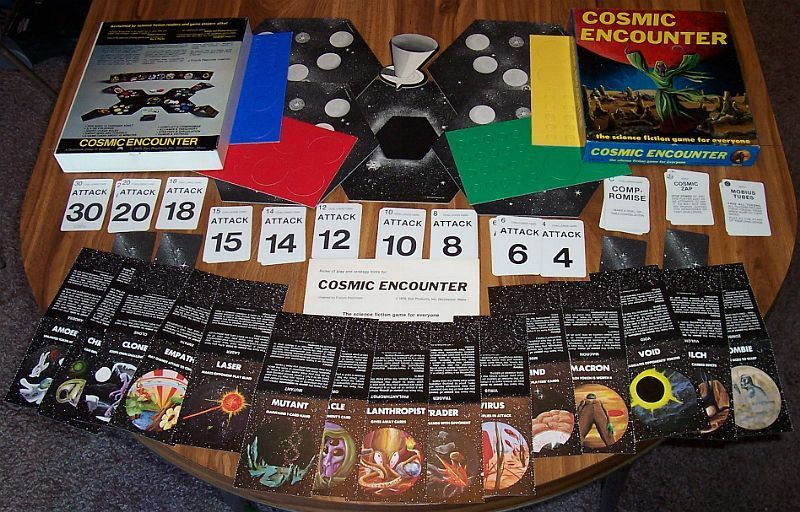 Cosmic Encounter: трудный путь культовой настольной игры 1