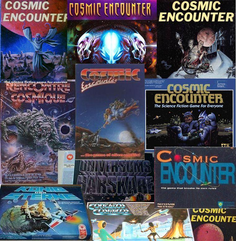 Cosmic Encounter: трудный путь культовой настольной игры