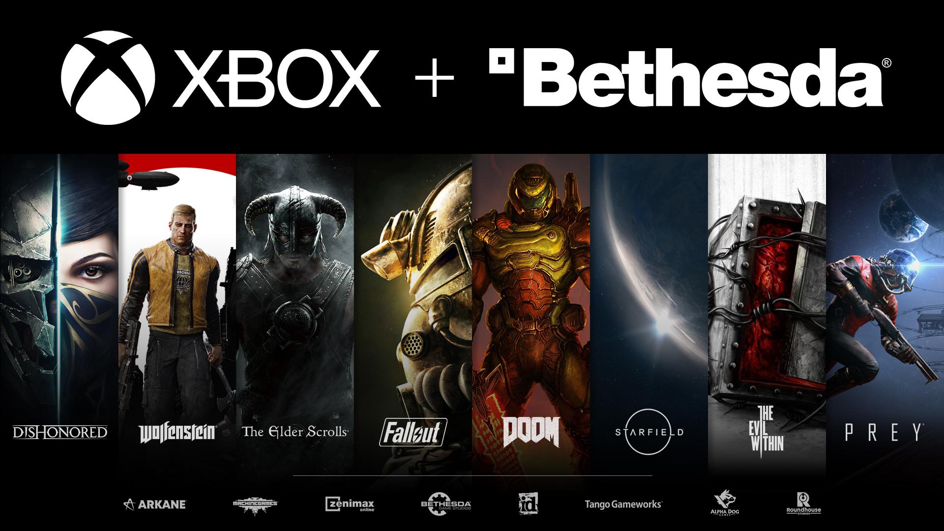 Исторический момент: Microsoft купила создателей The Elder Scrolls, Fallout и Doom 1